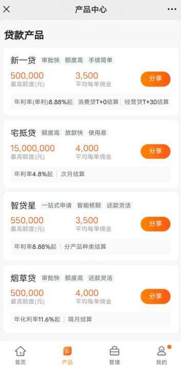 陆金通信贷推广返佣平台,免费注册加入经纪人